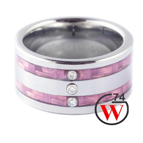Tungsten wedding rings elektra rings bands by w74 canada for Kevlar wedding ring