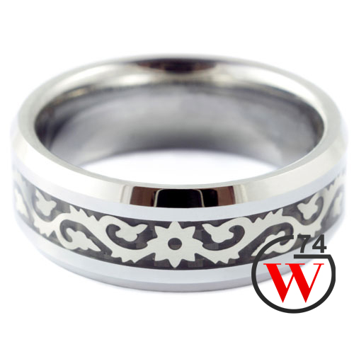 Tungsten Wedding Rings Gallant -Rings & Bands by W74 Canada